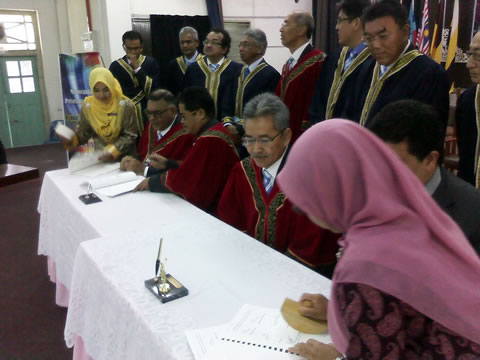 signing of MOU between USM and PFS